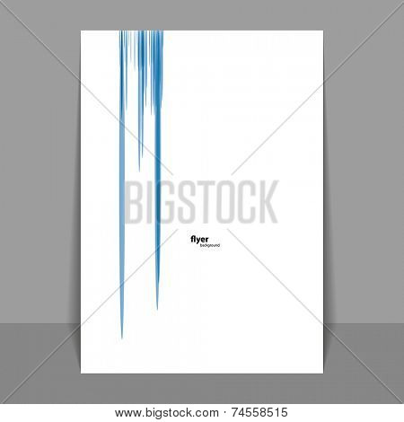 Flyer or Cover Design with Colorful Spotted Pattern