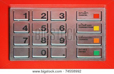 Atm Key Pad