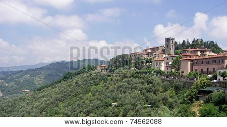 View of Montecatini Alto