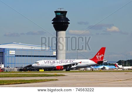 Virgin Atlantic Airbus A320.