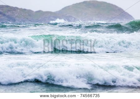 Waves At Derrynane Beach