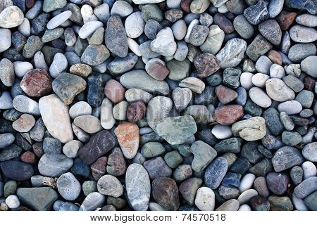 Abstract background with pebbles