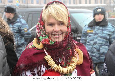 Environmentalist Evgeniya Chirikova