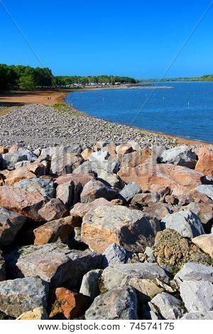 Carlyle Lake Swimming Beach Illinois
