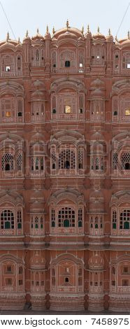 Hawa Mahal Palace Panorama, India