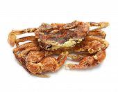 foto of creole  - deep fried soft shell crab - JPG