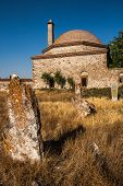 picture of sufi  - Historic Tomb called Uryan Baba at Seyitgazi Turkey from Ottoman Era - JPG