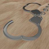 Постер, плакат: Handcuffs