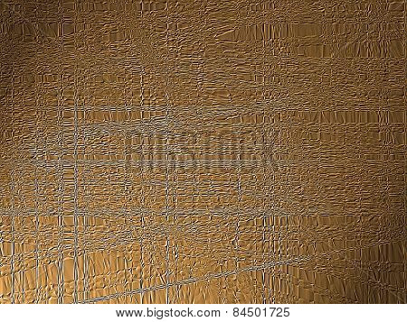Seamless Brown  Texture With Plastic Effect.