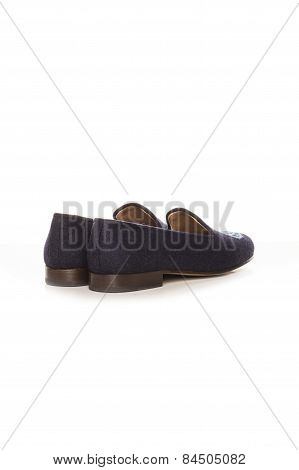 Slippers To Sleep On A White Background