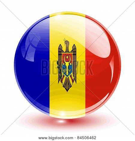 3D crystal sphere Moldova