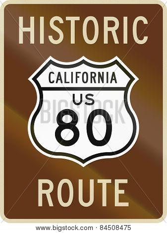 Historic Route 80