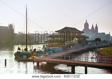 Amsterdam Floating Restaurant