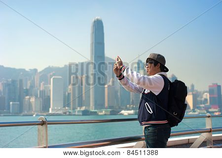 Tourist In Hong Kong