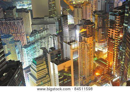 Hong Kong Density Downtown