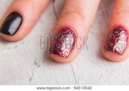 Beautiful manicure nails