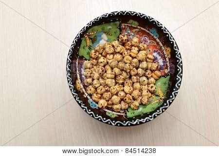 Plate With Chick Pea