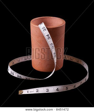 Tape Measure And Pot