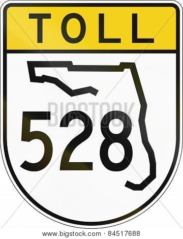 Toll Road Shield Florida