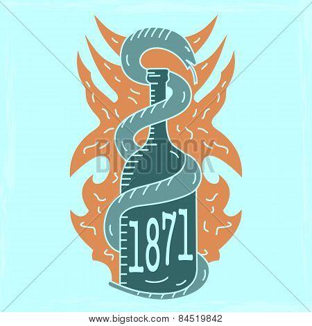 Alcohol Emblem Light