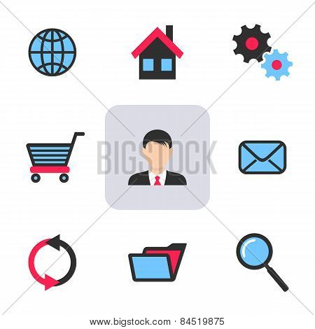 Office And Web Icons