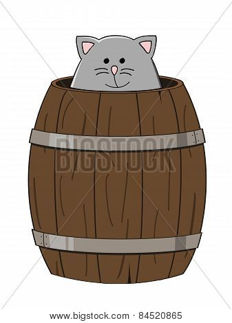 Barrel Cat