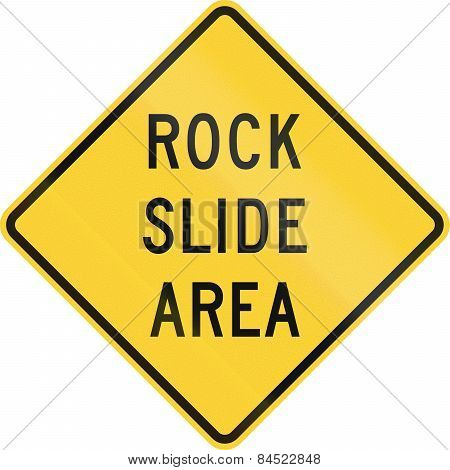 Rock Slide Area