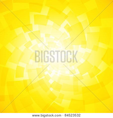 Modern Twisted Light Yellow Background With Rectangles