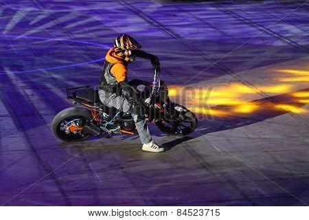 Motorcycle Stunt Show