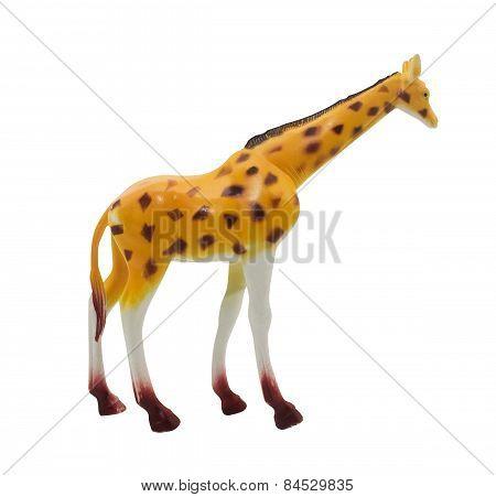 Giraffe toy.