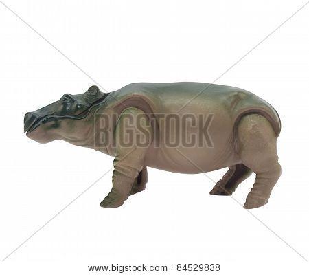 Hippopotamus toy.