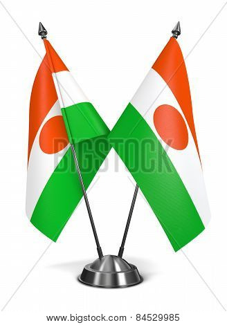 Niger - Miniature Flags.