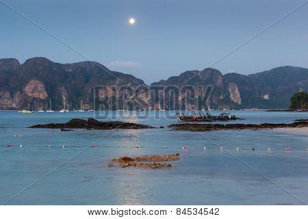 Phi Phi Island At Night