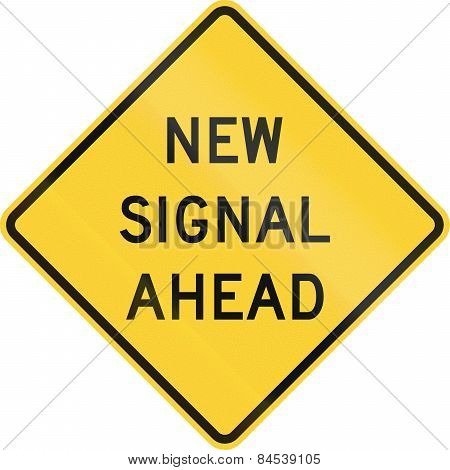 New Signal Ahead