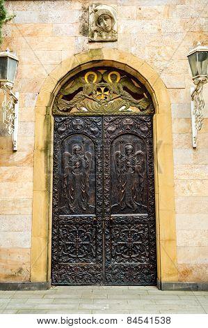 Old Door In Tbilisi