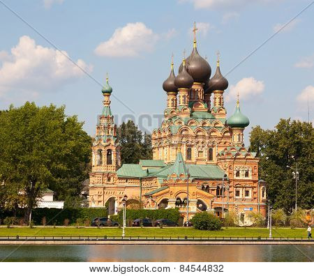 Troitsky Cathedral In Ostankino District In Moscow