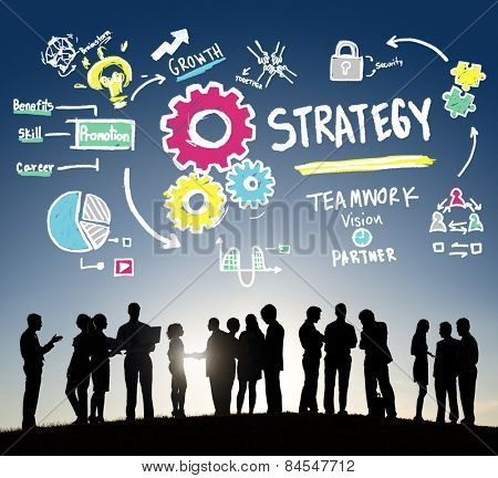 Brand Strategy Analysis Innovation Ideas Concept