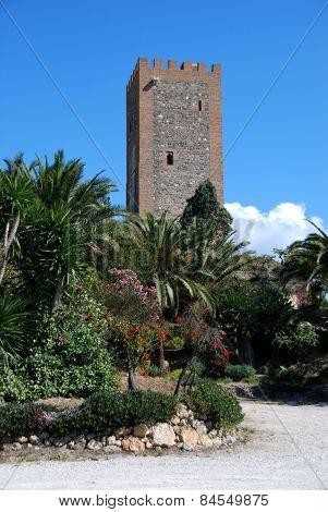 Homage tower, Velez Malaga.