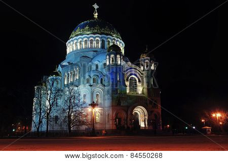 Cathedral Of Saint Nicholas In Kronstadt