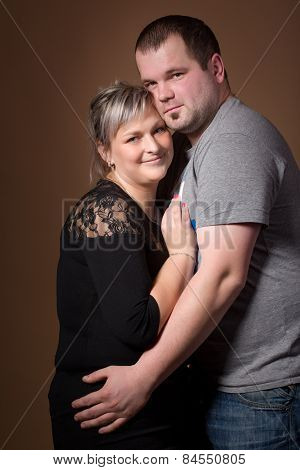 Beautiful Woman With Her Husband