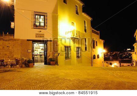 Restaurant in town, Antequera.