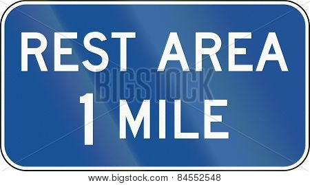 Rest Area 1 Mile