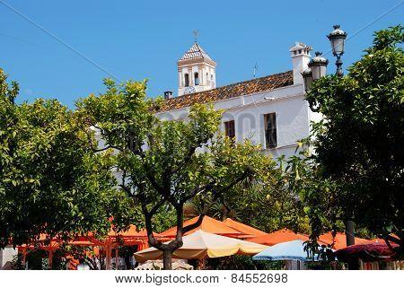 Orange Square, Marbella.