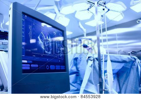 Ultrasound In The Operating Room During Surgery