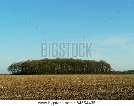 A field lying fallow
