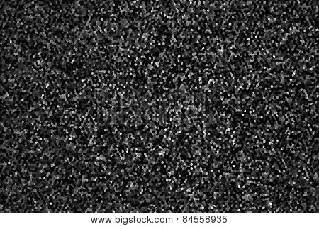 Abstract Texture Mosaic Of Black Color