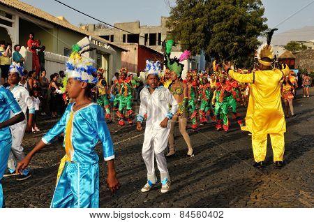 Dancing Away At The Carnival
