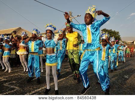 Kids In Carnival