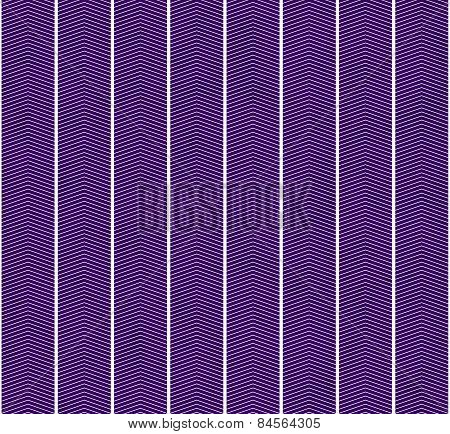 Purple And White Zigzag Textured Fabric Pattern Background