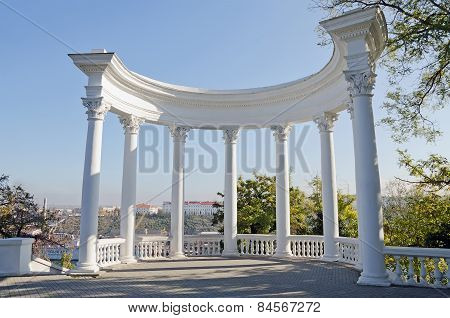 Rotunda In Sevastopol